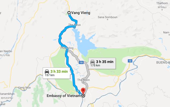How to get Vietnam visa in Vang Vieng | Consulate of Vietnam in Vang ...