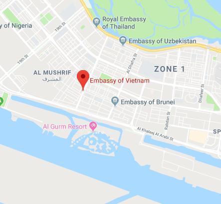 How to get Vietnam visa in Abu Dhabi | Embassy of Vietnam in ...