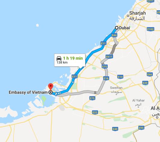 How to get Vietnam visa in Dubai, UAE | Consulate of Vietnam ...